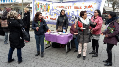 Courage Witten am Internationalen Frauentag